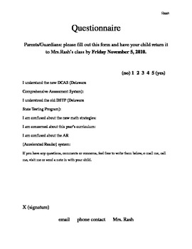 Parent Education Program Template