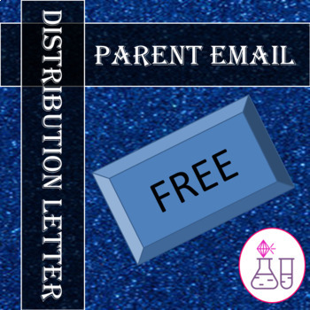 Parent Email Distribution Letter
