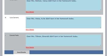 Parent Email Sender