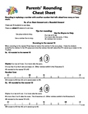 Parent Explanation Letter on Rounding to the Nearest 10 -