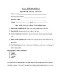 Parent/Family Classroom Volunteer Form