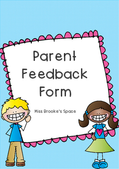 Parent Feedback Form