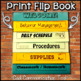 Meet The Teacher Flipbook {Editable}