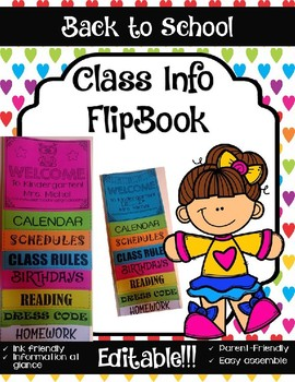 Parent Flip book