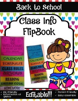 Parent Flip book