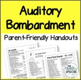 Parent-Friendly Auditory Bombardment Handouts