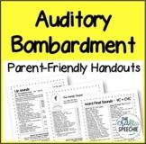 Parent-Friendly Auditory Bombardment Handouts