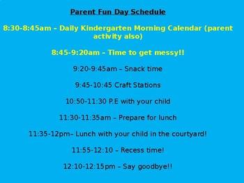 Parent Fun Day!