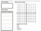 Parent Function Book Template