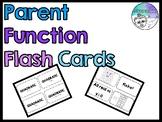 Parent Function Flashcards