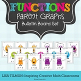 Parent Function Graphs Bulletin Board Set for Algebra 2 or