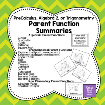 Parent Function Summaries