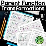 Parent Function Transformations, Editable
