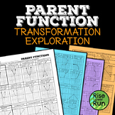 Parent Function Transformations, Editable