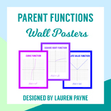 Parent Function Wall Posters