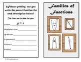 Parent Functions Algebra Greeting Card - Mathematically Yours
