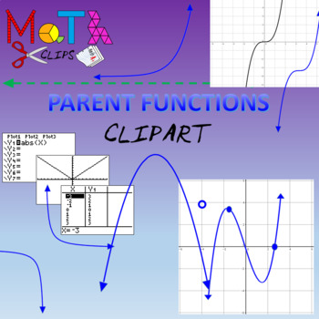 Parent Functions Clipart