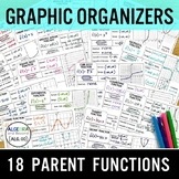 Parent Functions - Graphic Organizers