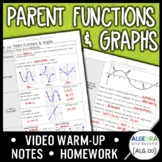 Parent Functions and Graphs Lesson