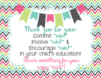 Refreshing image with regard to thank you for your commit mint free printable