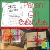 Parent Gift Calendar 2021   FREE Yearly Updates