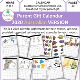 Parent Gift Calendar 2019 AUSTRALIAN Version