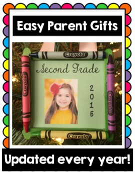 Parent Gift Keepsake Crayon Ornament