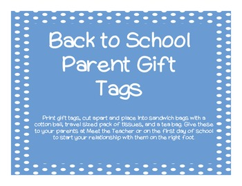 Parent Gift Tags