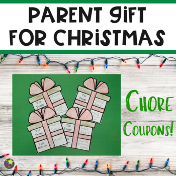 Parent Gift for Christmas from Students