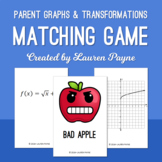 Parent Graphs and Transformations Matching Card Game