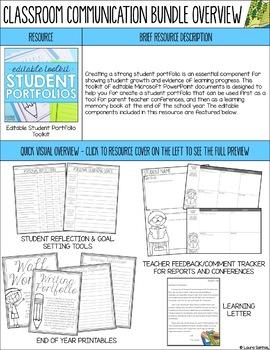 Parent & Guardian Classroom Communication BUNDLE