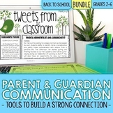 Parent Communication Tools to Build Classroom Community | BUNDLE