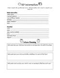 Parent/Guardian IEP Questionnaire