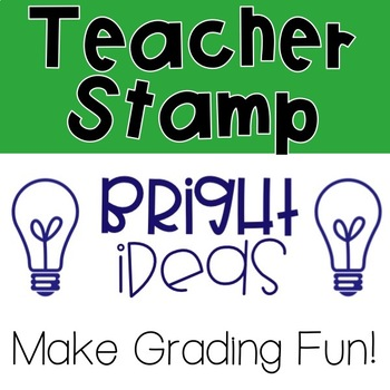 Bright Ideas Pre-Inked Stamp