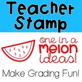 One in a Melon Ideas Pre-Inked Stamp
