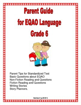 Parent Guide to EQAO Language Grade 6
