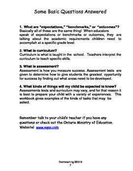 Parent Guide to EQAO Math test Grade 3