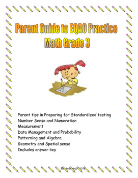 Parent Guide to EQAO Math test Grade 3