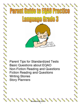 Parent Guide top EQAO grade 3 Language