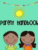 Parent Handbook For Beginning of the Year