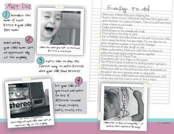 Parent Handbook (Welcome to Kindergarten)