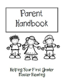 Parent Handbook for First Grade Reading