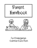 Parent Handbook for Kindergarten Common Core Math