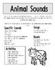 Parent Handout: Animal Sounds