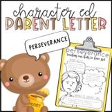 Perseverance Parent Letter