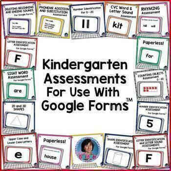 Pre Kindergarten Common Core Aligned Parent Handout And Report Card Templates