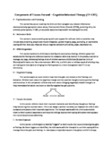Parent Handout: TF-CBT Components (PRACTICE)