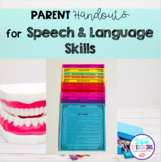 Parent Handouts for Speech and Language Skills