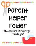 Parent Helper Folder