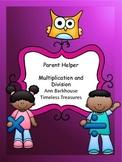 Parent Helper Multiplication and Division